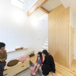 自由設計の家 新築施工事例
